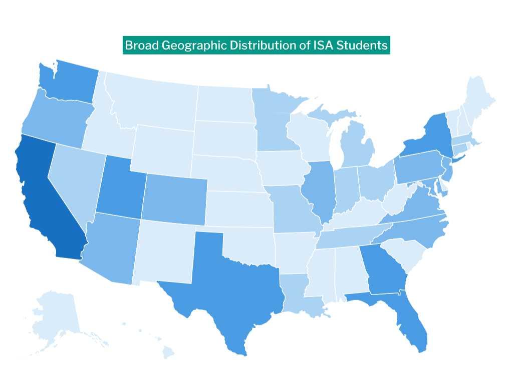 ISA Geographic Distribution