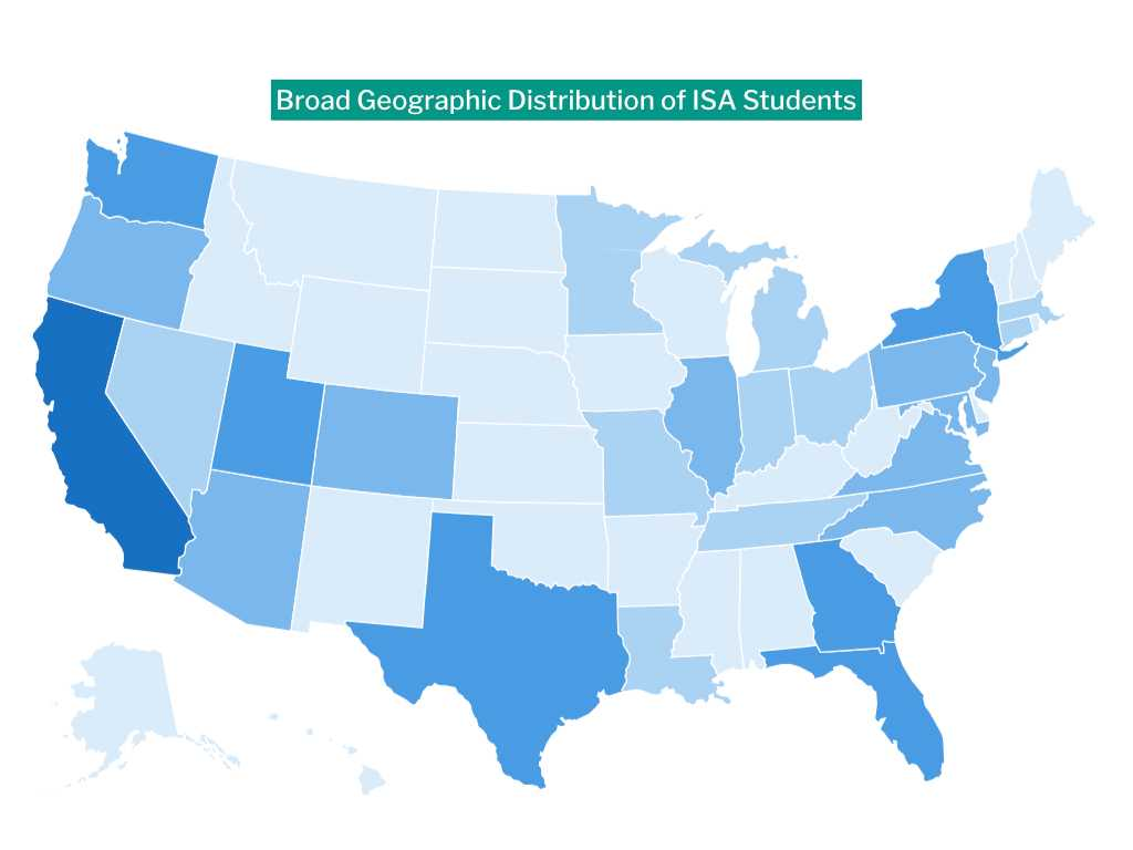 ISA Geographic Distribution