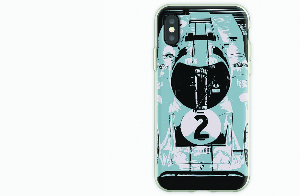 Porsche 917K iPhone Soft Case by thespeedart