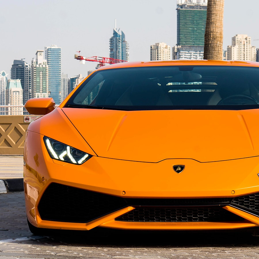 Lamborghini front