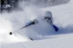 Ski camp powder