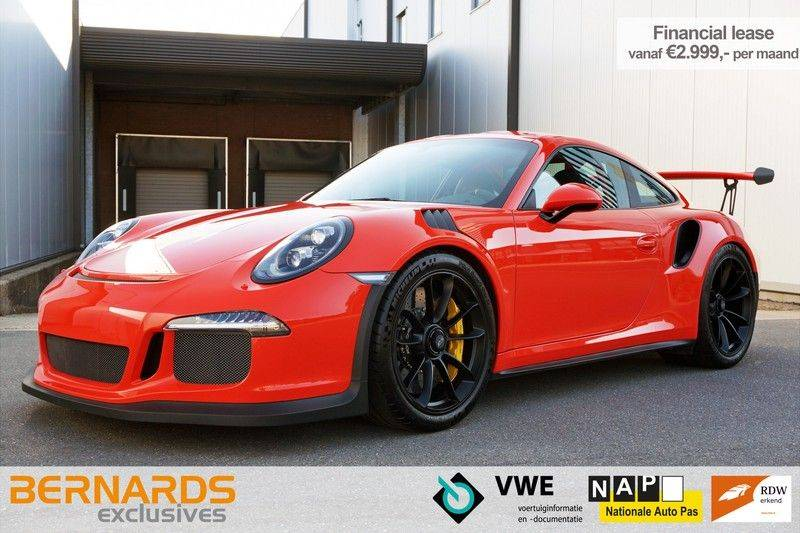 Porsche 911 4.0 GT3 RS *Lift *918 seats *PCCB afbeelding 1