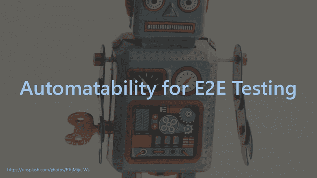 how can we improve the testability 33
