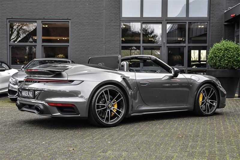 Porsche 911 TURBO S CABRIO ACC+ST.KOELING+MATRIX LED afbeelding 25