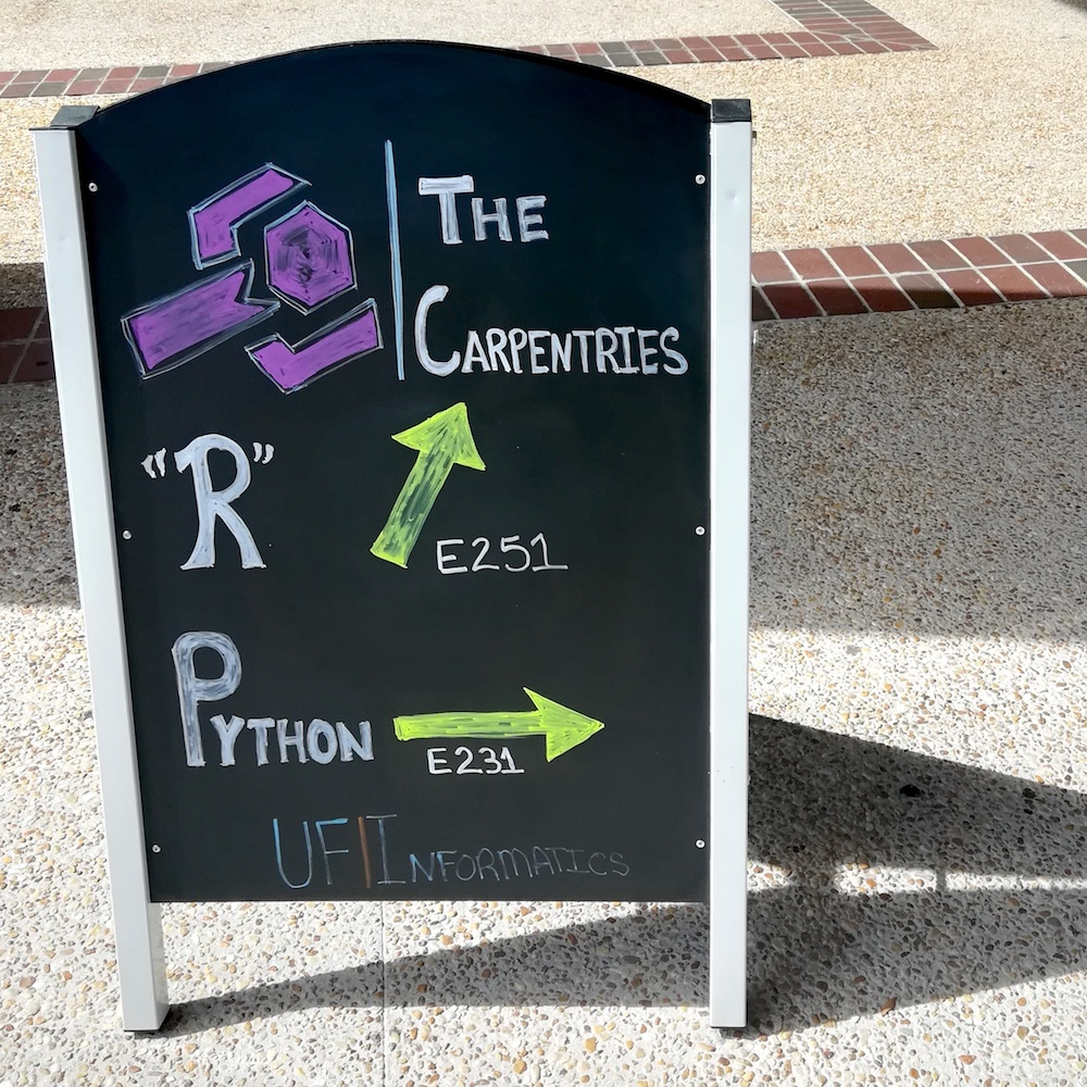 2018 August 15 Sign for concurrent R and Python workshops