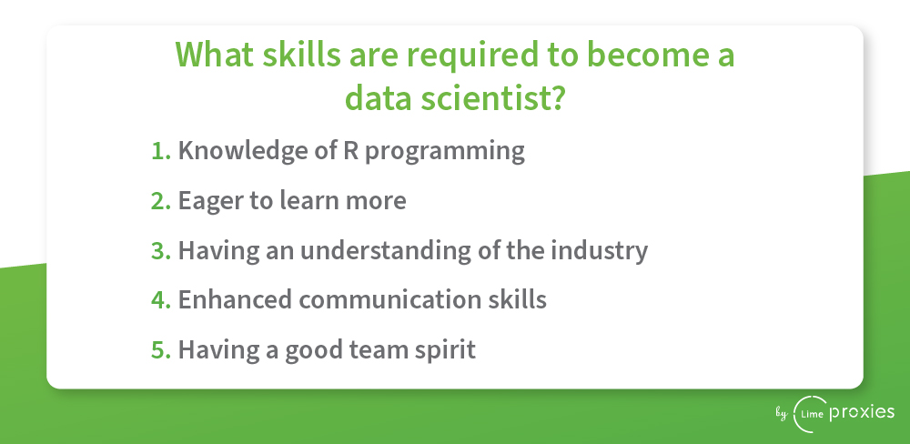 become a Data scientist