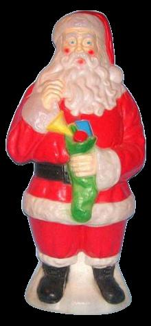 Traditional Santa photo