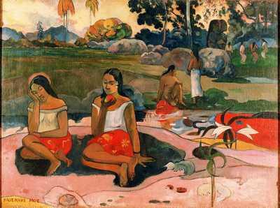 'Nave nave moe (Sacred spring, sweet dreams)' by Gauguin in 1894, Hermitage Museum