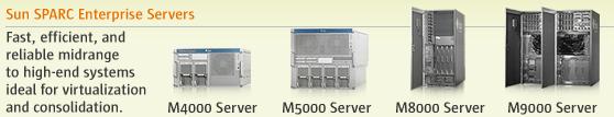 Sun SPARC Enterprise Servers
