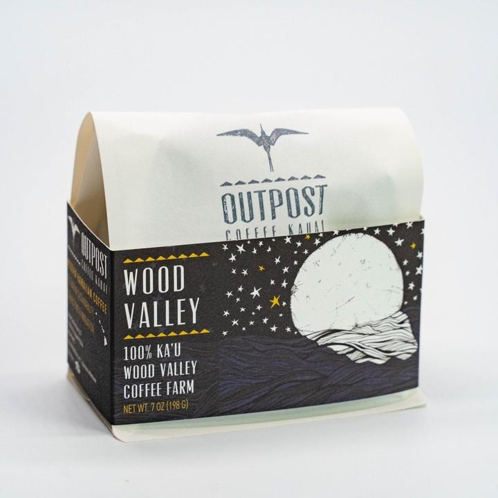 Outpost Coffee   100% Kaʻu Wood Valley