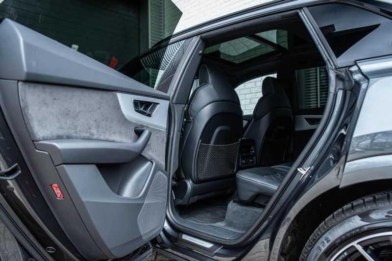 Audi SQ8 Quattro Pro Line S , 435 PK, Black/Optic, Head/Up, Pano/Dak, Valcona/Leder, S/Sportstoelen, 2020, 25DKM!! afbeelding 17