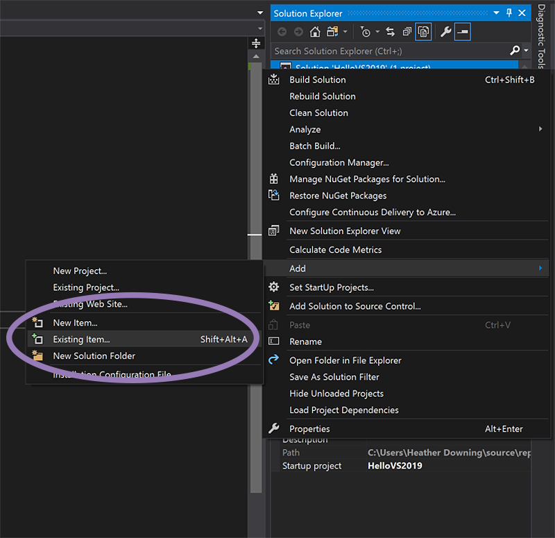 VS 2019 Code Cleanup run