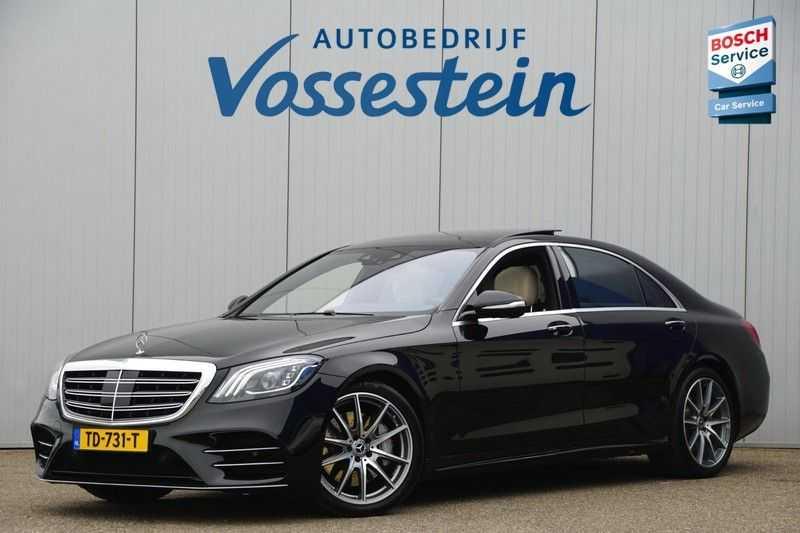 Mercedes-Benz S-Klasse 560 4Matic Lang Premium Plus 470pk / AMG / Nwpr: E186.000,- / Full Options! afbeelding 7