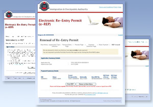 Re-Entry Permits go electronic