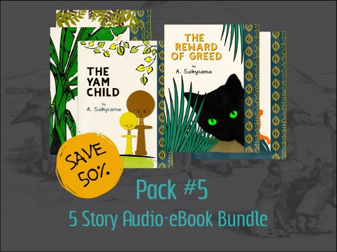 Pack #5: 5 Story Audio-eBook Bundle