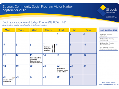 September Communitysocial Victorharbor