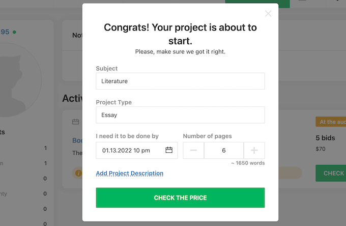 studybay.com order sample