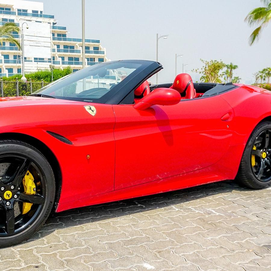 Ferrari california side