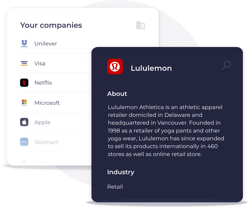 explore companies