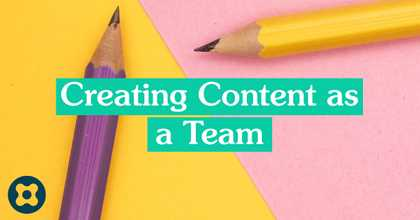 Creating Content as a Team image