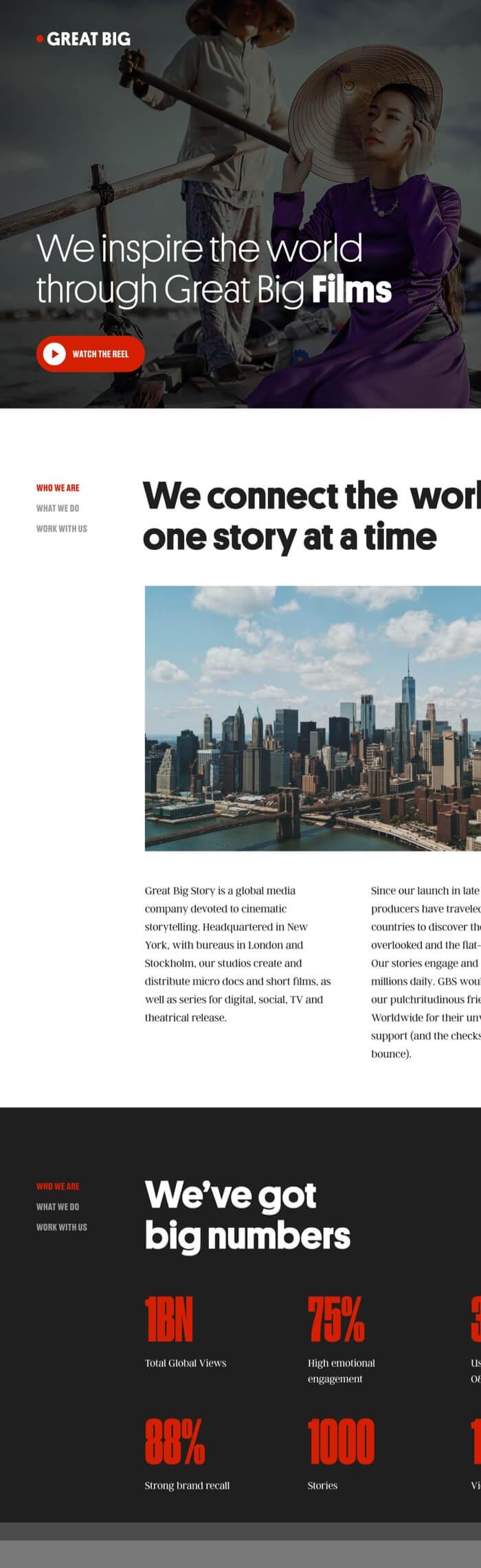 Great Big Story Video platform image