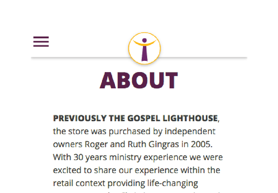 The Lighthouse Website