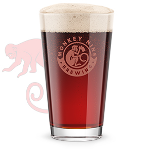 Rendering of Monkey 9 Red Tail Ale Beer