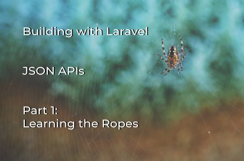 JSON APIs with Laravel: Part 1 - Learning the Ropes cover image