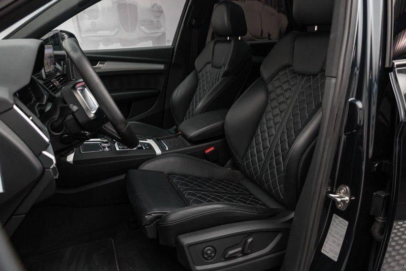 "Audi SQ5 3.0 TDI 347pk Quattro Black Edition Panoramadak Luchtvering Valconaleder B&O Keyless ACC Navi-High Matrix Camera 21""Performance Pdc Verlengde fabrieksgarantie afbeelding 2"