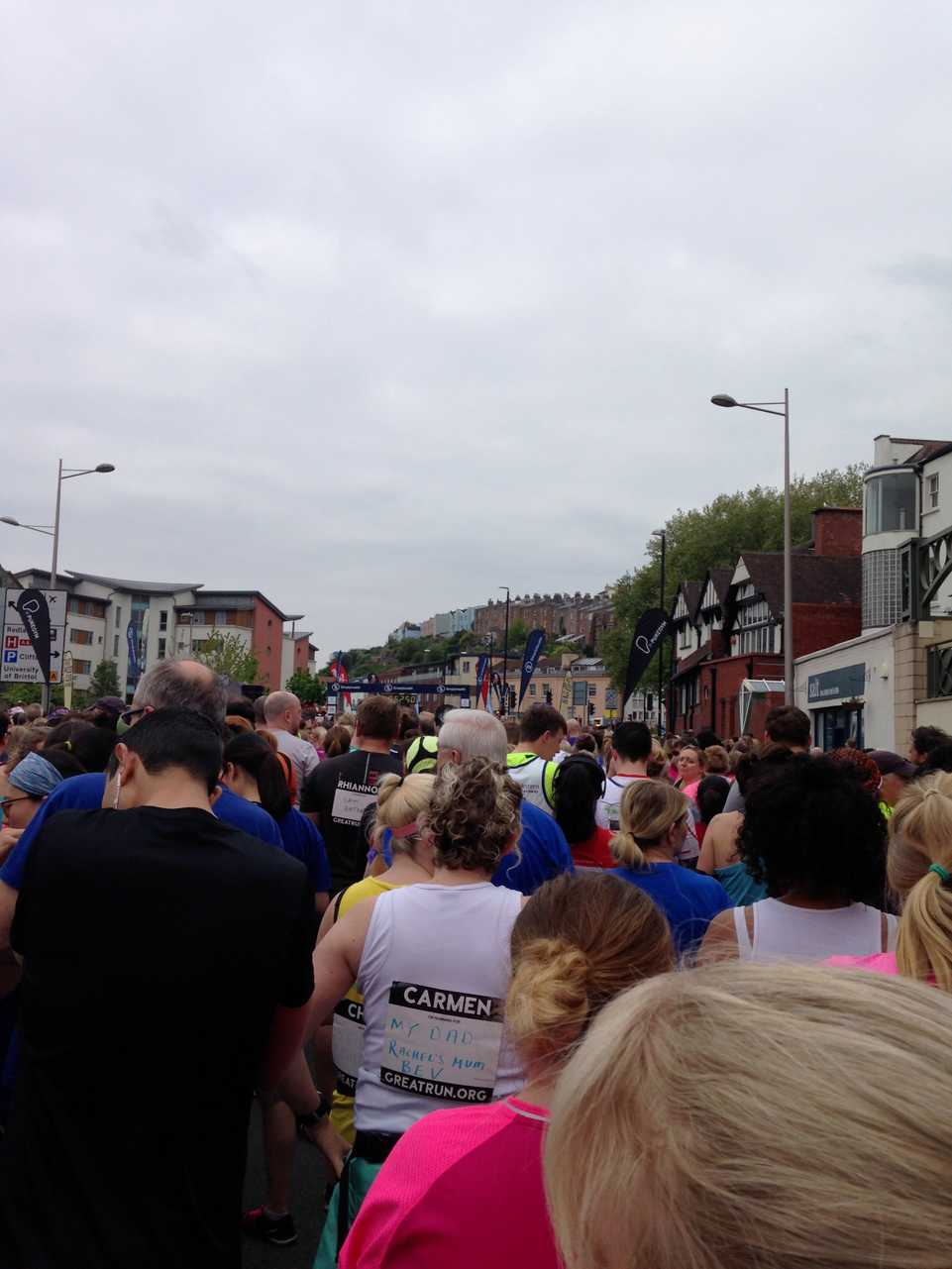 featured image thumbnail for post Bristol half marathon - 68 days and counting