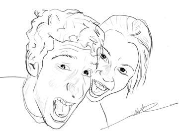 Ray & Stefa sketch