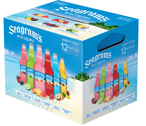 Seagrams Escapes Variety Packs