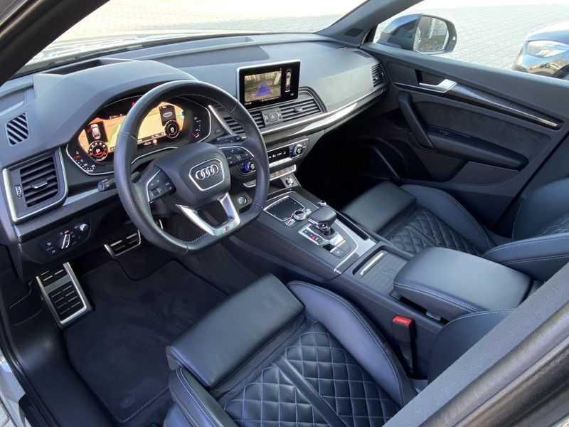 Audi Q5 2.0TFSI 252pk Quattro Black Optic Alle Opties! Lucht Tr.Haak Ruitleder Carbon Matrix Pano 20-Inch afbeelding 20