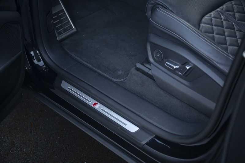 Audi Q8 55 TFSI quattro Pro Line S 3x S-Line! Black pack, 4-wiel-best. / Massage, Verw. & Koelb. stoelen, Bang & Olufsen 3D + Elek.Haak + Ambiente verlichting afbeelding 17