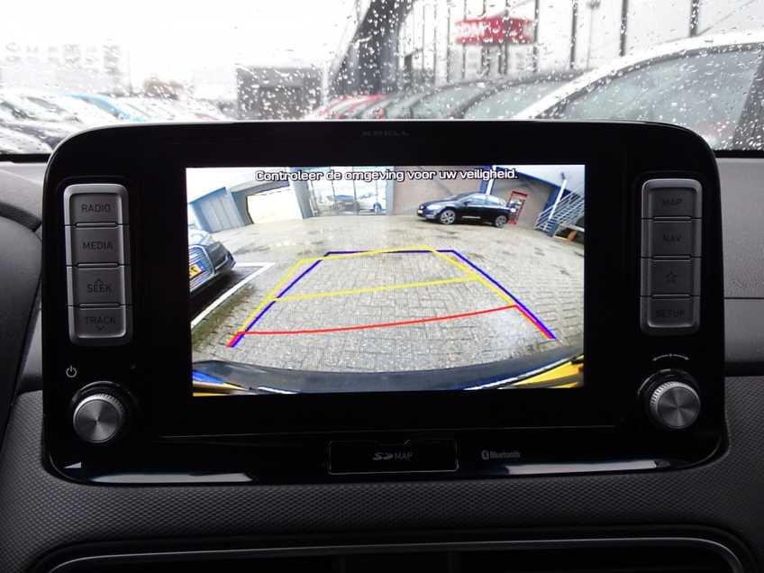 Hyundai Kona EV Premium 64 kWh EX BTW 4% Leder Navigatie Clima Cruise Camera HUD  460 KM op 1 Lading! afbeelding 22