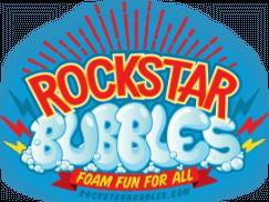 Rockstar Bubbles logo.