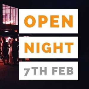 Open Night this Friday 7th from 6pm. Be there!