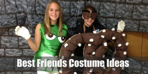 10 Funny & Cute Halloween Costume Ideas for Best Friends