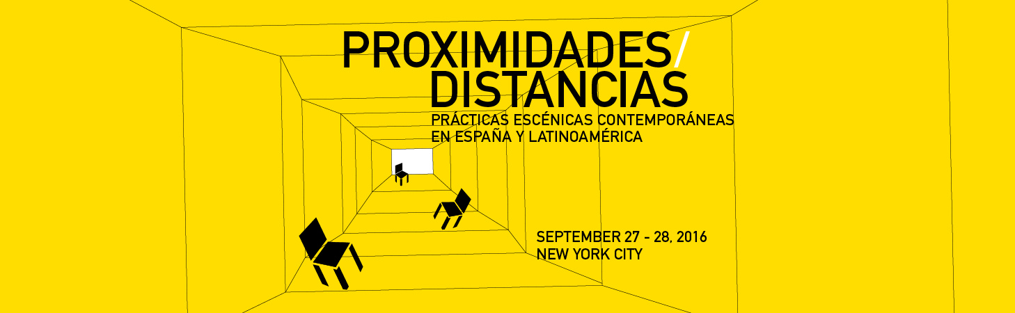 image from PROXIMITIES/DISTANCES: Contemporary Spanish and Latin American Performance Theories and Practices