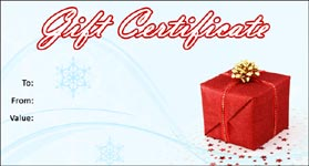 Christmas Gift Certificate Template Free.Gift Template Select A Gift Certificate Template To Customize