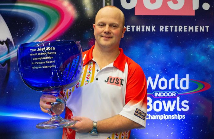 A chat with your 2019 Open Singles bowls winner, Stewart Anderson