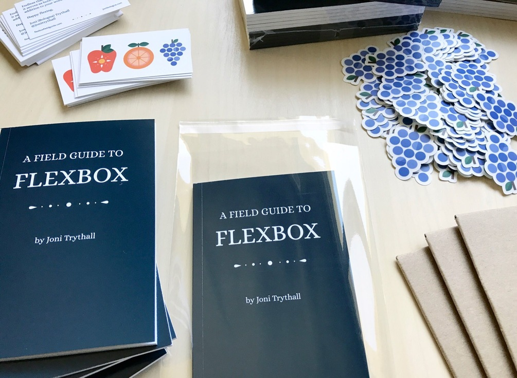 Title and fruit preview for A Field Guide to Flexbox