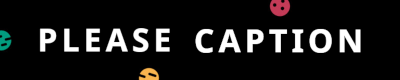 The Please Caption bot logo