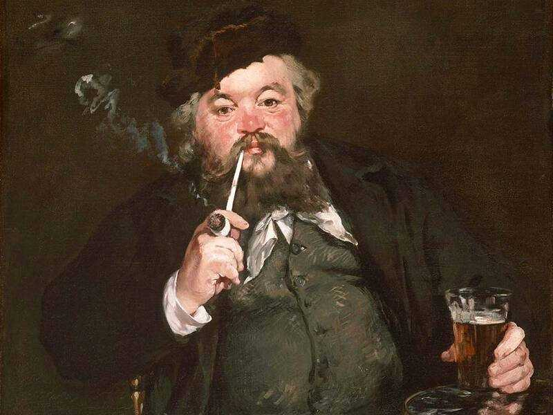 Manet's Salon success with Le Bon Bock (The Good Beer) in 1873 may have been the reason he did not contribute to the first impressionist exhibition held the next year