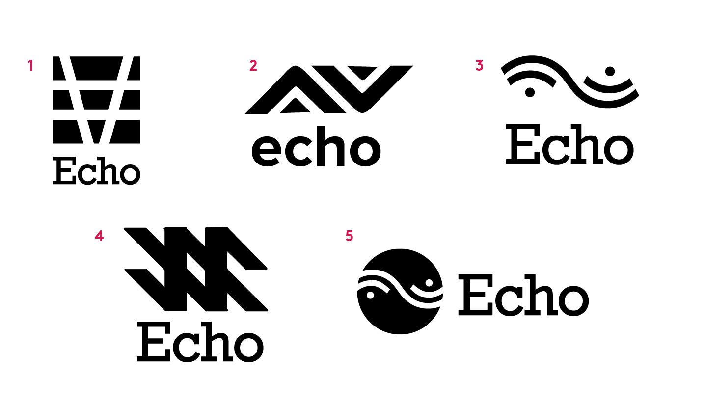 Echo Logo Options