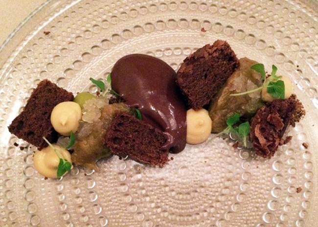 Dessert at Mak Bistro