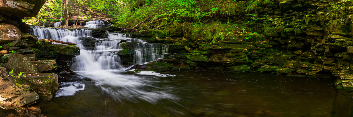 Rickett's Glen Waterfall Steps