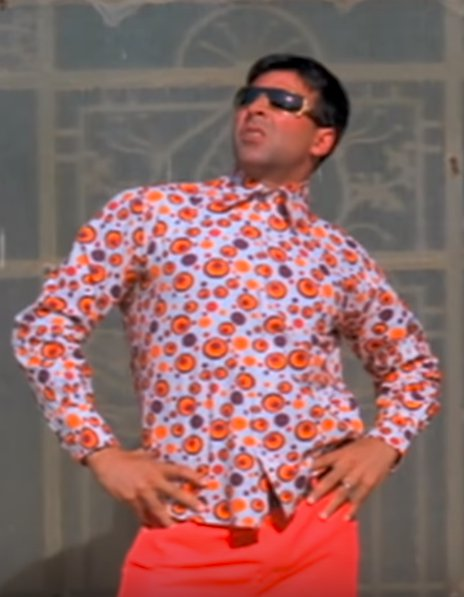 Akshay Kumar Phir Hera Pheri Pose