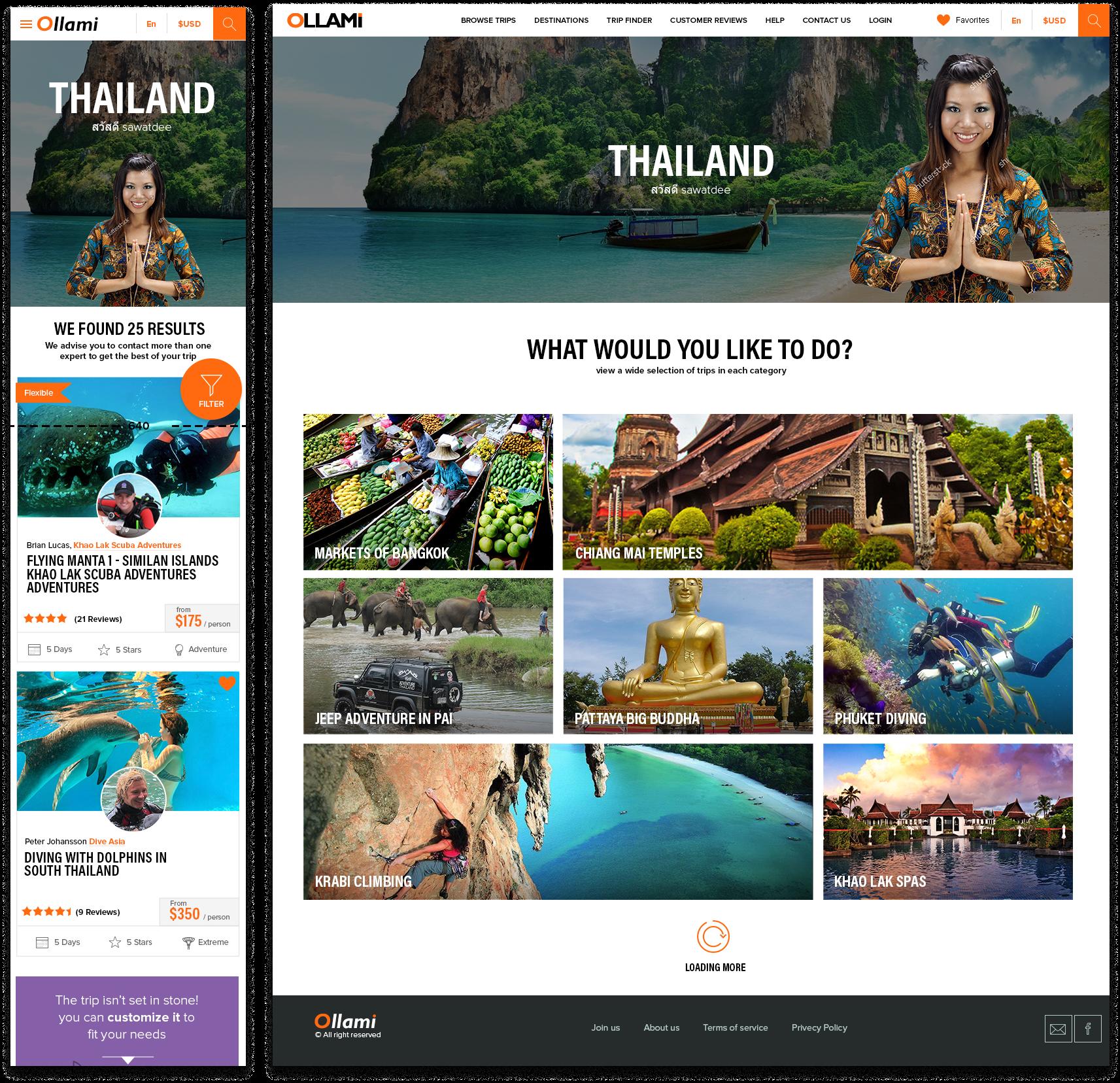 ollami Homepage