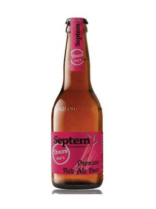 Septem Thursday's Premium Red Ale Beer – 0.33l